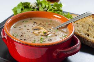 zupa grzyby