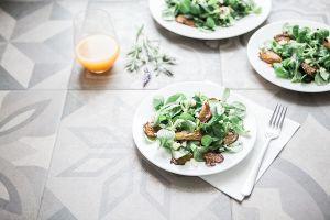 grzyby salata