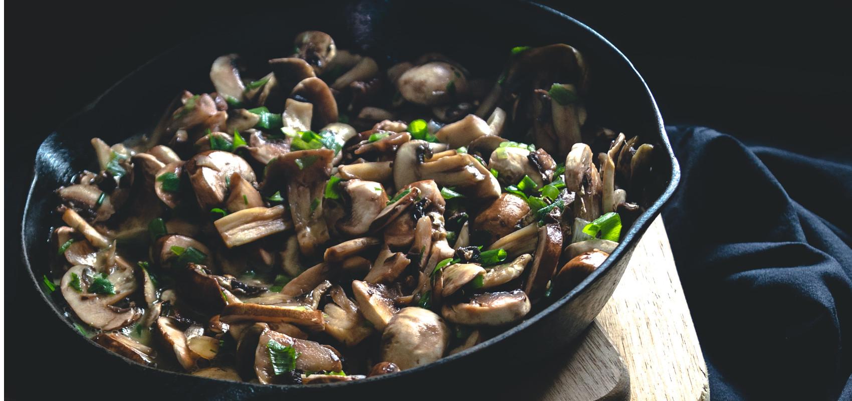 5 korzyści płynących z jedzenia grzybów